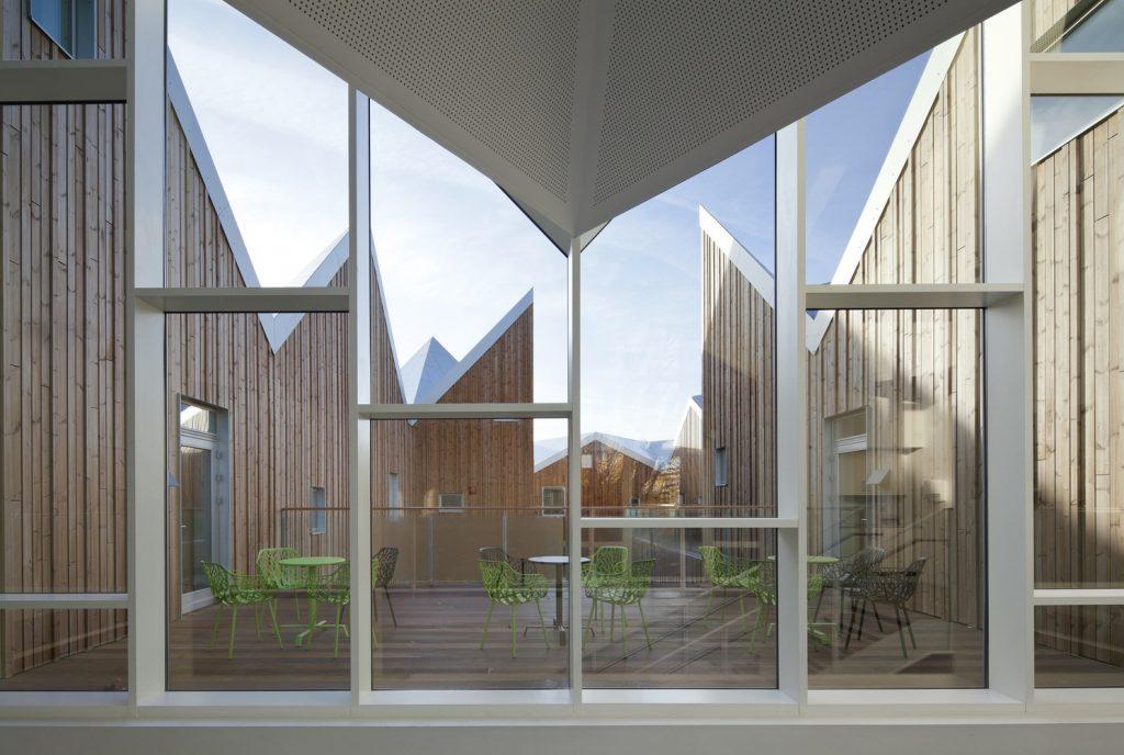 arquitetura sustentável em vidro