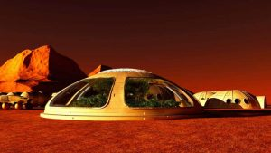 Vidro pode ser solução para vida em Marte