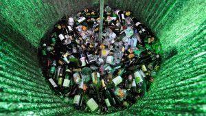 reciclagem de vidro no Brasil
